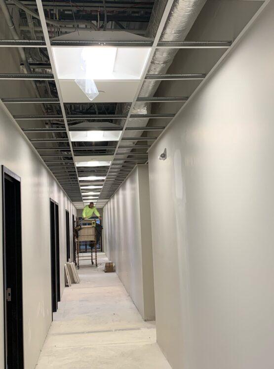 commercial ceiling repair Boston ma